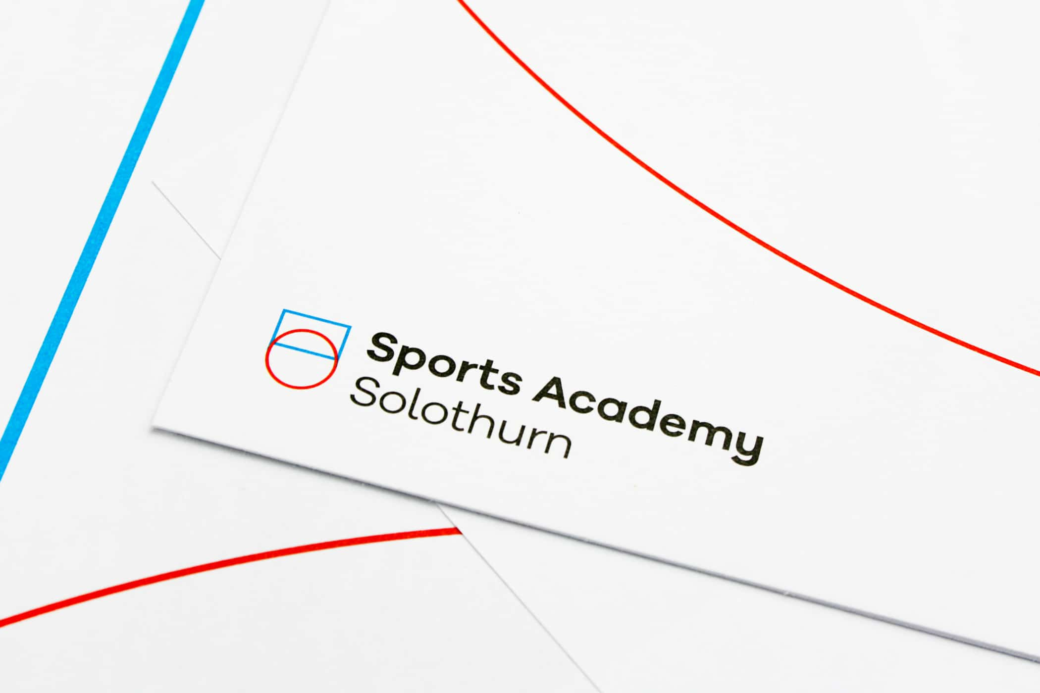 Sports Academy Solothurn Corporate Design
